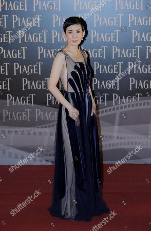 Sandra Ng Hong Kong actress Sandra Ng poses on the red carpet of the Hong Kong Film Awards in Hong Kong