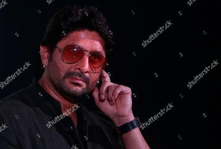 Arshad Warsi Bollywood actor Arshad Warsi listens to a question from a journalist during the trailer launch of his upcoming movie 'Welcome to Karachi' in Mumbai, India, . The film is set for release on May 21