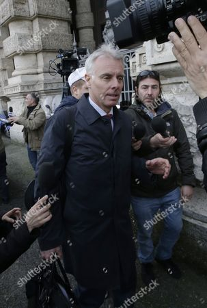 Stock Photo of Amanda Knox's lawyer Carlo Dalla Vedova arrives at the Italy's highest court building, in Rome, . American Amanda Knox and her Italian ex-boyfriend Raffaele Sollecito expect to learn their fate Friday when Italy's highest court hears their appeal of their guilty verdicts in the brutal 2007 murder of Knox's British roommate Meredith Kercher. Several outcomes are possible, including confirmation of the verdicts, a new appeals round, or even a ruling that amounts to an acquittal in the sensational case that has captivated audiences on both sides of the Atlantic