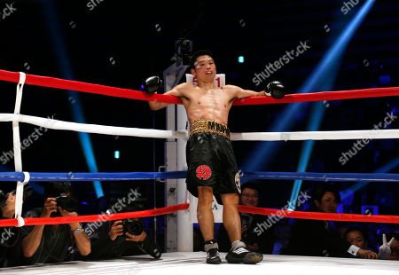Takashi Miura Japanese champion Takashi Miura waits at a corner for the referee count after knocking down Australian challenger Billy Dib in the third round in their WBC super featherweight boxing title match in Tokyo, . Miura defended his title by knockout in the round