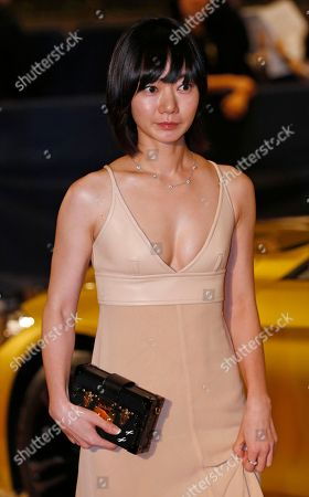 Bae Doo-na South Korean actress Bae Doo-na walks on the red carpet upon her arrival for the Asian Film Awards at the Venetian Macao in Macau