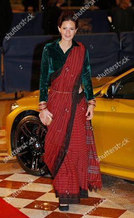 Kalki Koechlin India actress Kalki Koechlin poses on the red carpet of the Asian Film Awards at the Venetian Macao in Macau