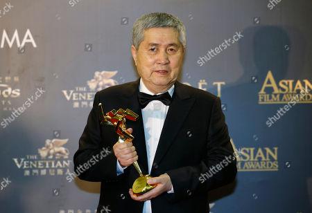 Im Kwon-taek South Korean director Im Kwon-taek poses after winning the Lifetime Achievement Award of the Asian Film Awards in Macau
