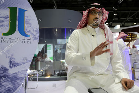 Stock Picture of Saud al-Faisal Prince Saud al-Faisal talks to The Associated Press about plans to open the Saudi stock exchange to direct investment by foreigners, just one of several plans for the exchange, during an Investment Exhibition in Dubai, United Arab Emirates