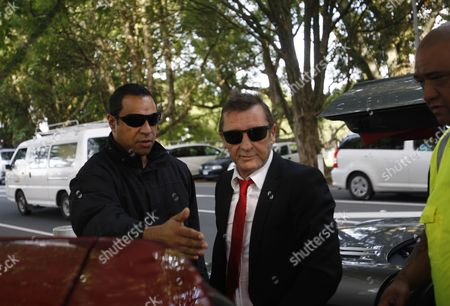 Phil Rudd AC/DC drummer Phil Rudd, center, arrives at a court in Tauranga, New Zealand . Rudd pleaded guilty to a charge of threatening to kill a man who used to work for him. He also pleaded guilty to possessing methamphetamine and marijuana
