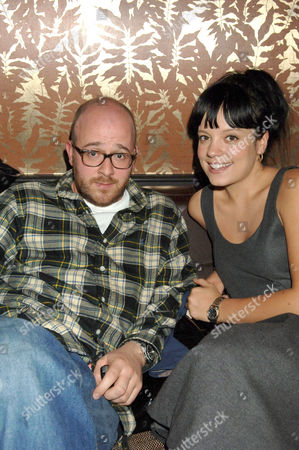 Seb Chew and Lily Allen