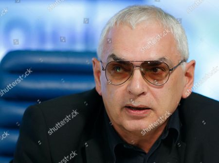 Karen Shakhnazarov Russian film director and studio head Karen Shakhnazarov attends a round table to mark President Vladimir Putin's 15 years in office, some of the president's long-term allies questioned his political course and warned of economic fallout in Moscow, Russia