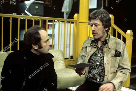 Stephen Yardley and Leslie Schofield in 'The XYY Man' - 1976