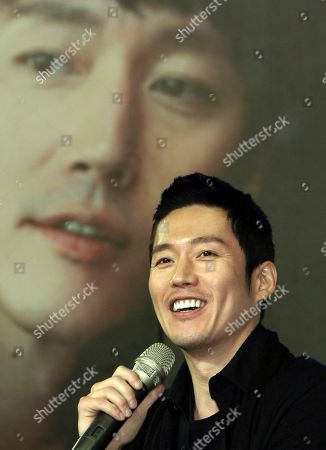 Jang Hyuk South Korean actor Jang Hyuk speaks during a media event before a meeting with his fans in Taipei, Taiwan