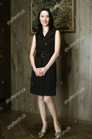 """Isabella Leong Macanese actress Isabella Leong poses for a portrait during an interview for her latest movie """"Murmur of the Hearts"""" in Taipei, Taiwan, . The film premiers in Taiwan on April 10"""