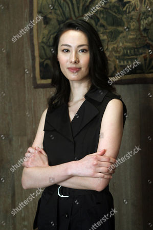 """Stock Photo of Isabella Leong Macanese actress Isabella Leong poses for a portrait during an interview for her latest movie """"Murmur of the Hearts"""" in Taipei, Taiwan, . The film premiers in Taiwan on April 10"""