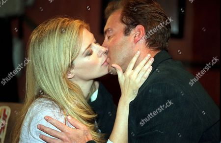 'Emmerdale'  TV - 2000  Claudia Nash [Susan Duerden] and Chris Tate [Peter Amory]