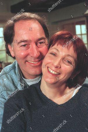'Emmerdale'  TV - 2000  Jack (Clive Hornby) and Sarah Sugden (Alyson Spiro)