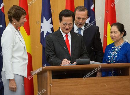 Editorial photo of Australia Vietnam, Canberra, Australia