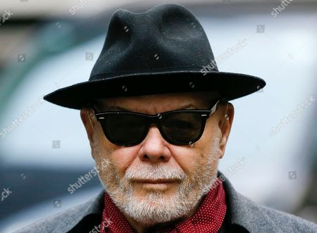 Gary Glitter British pop star Gary Glitter, whose real name is Paul Gadd, arrives at Southwark Crown Court in London, . Gadd is facing historic sex abuse charges dating back to the 1970s