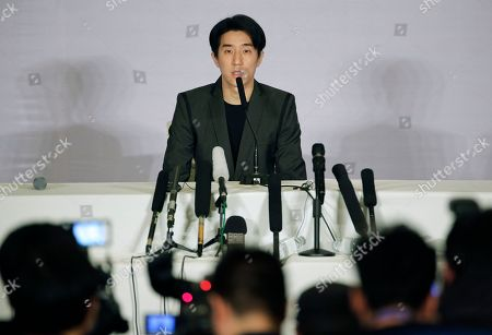 Jaycee Chan Hong Kong actor Jaycee Chan speaks during a news conference at a hotel in Beijing . Chan, son of actor Jackie Chan has apologized and asked for a second chance following his release from a six-month jail sentence for allowing people to use marijuana in his apartment