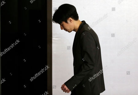 Jaycee Chan Hong Kong actor Jaycee Chan leaves a news conference at a hotel in Beijing . Chan, son of actor Jackie Chan has apologized and asked for a second chance following his release from a six-month jail sentence for allowing people to use marijuana in his apartment