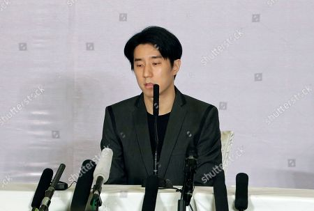 Jaycee Chan Hong Kong actor Jaycee Chan speaks during a news conference at a hotel in Beijing . The son of actor Jackie Chan apologized to the public Saturday and asked for a second chance following his release from a six-month jail sentence for allowing people to use marijuana in his apartment