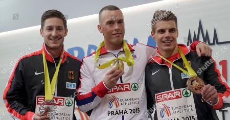 Editorial image of Czech Republic Athletics European Indoors, Prague, Czech Republic