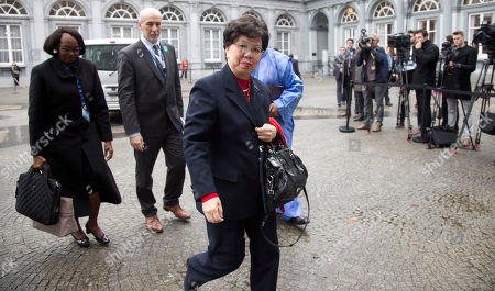 Margaret Chan China's Margaret Chan, Director General of the World Health Organization, center, arrives for a conference on Ebola at the Egmont Palace in Brussels on . Liberia's president is calling for a Marshall Plan of international aid to help eradicate Ebola from western Africa and rebuild economies, as the number of deaths from the disease approaches 10,000. Sirleaf told fellow regional leaders and delegates at a major international conference on Ebola in Brussels that rebuilding economies devastated by the outbreak is a long-term and costly task