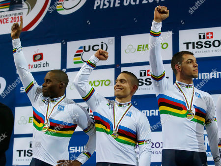 Editorial photo of France Cycling Track World, Saint-Quentin-en-Yvelines, France
