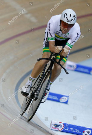 Editorial image of France Cycling Track World, Saint-Quentin-en-Yvelines, France