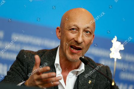 Director Oliver Hirschbiegel during the press conference for the film 13 Minutes (Elser) at the 2015 Berlinale Film Festival in Berlin