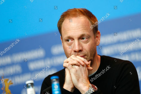 Actor Johann von Buelow during the press conference for the film 13 Minutes (Elser) at the 2015 Berlinale Film Festival in Berlin