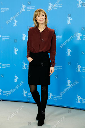 Actress Jenny Schily poses for photographers during the photo call for the film Dora or The Sexual Neuroses of Our Parents (Dora oder Die sexuellen Neurosen unserer Eltern) at the 2015 Berlinale Film Festival in Berlin
