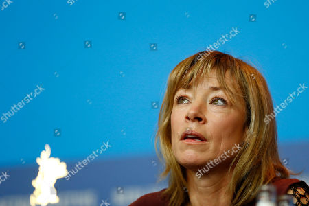 Actress Jenny Schily during the press conference for the film Dora or The Sexual Neuroses of Our Parents (Dora oder Die sexuellen Neurosen unserer Eltern) at the 2015 Berlinale Film Festival in Berlin