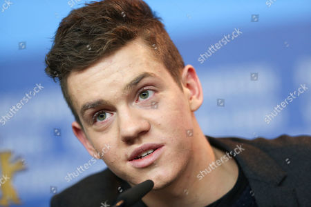 Actor Robert Naylor during the press conference for the film Every Thing Will Be Fine in Berlin