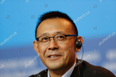 Director Jiang Wen during the press conference for the film Gone With The Bullets ( Yi Bu Zhi Yao) at the 2015 Berlinale Film Festival in Berlin