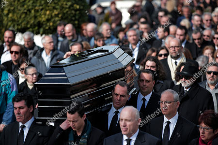 Editorial image of Greece Demis Roussos Funeral, Athens, Greece