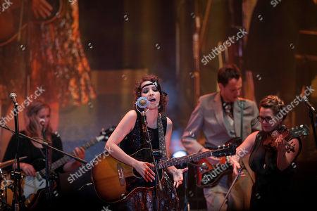 Gaby Moreno Guatemalan singer Gaby Moreno performs in concert in Guatemala City, late