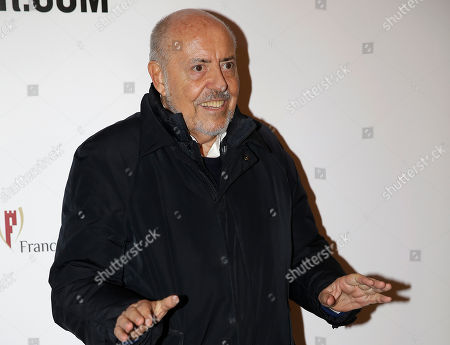 Elio Fiorucci arrives for the Vogue Talents Corner party during the Milan Fashion Week in Milan, Italy. Elio Fiorucci, founder of the Fiorucci brand that pioneered stretch jeans and exemplified the youthful, graphic ethos of the 1970s and 1980s, has died at age 80, in his home in Milan, Italy