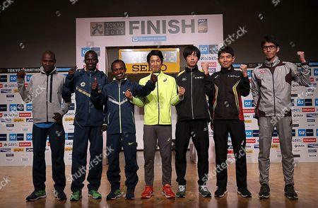 Editorial photo of Japan Tokyo Marathon, Tokyo, Japan