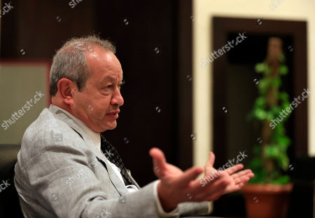 Naguib Sawiris Egyptian billionaire businessman Naguib Sawiris speaks to The Associated Press prior to the opening of a major economic conference seeking billions of dollars in investment, in Sharm el-Sheikh, Egypt, . Egyptian President Abdel-Fattah el-Sissi approved a package of amendments to investment laws on Thursday, aimed at enticing foreign investors on the eve of the conference that will bring together hundreds of business executives and foreign leaders