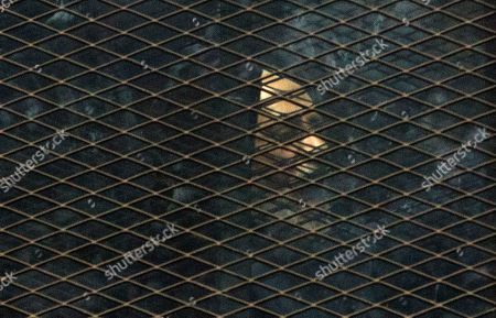 Mohammed Badie Muslim Brotherhood Supreme Guide Mohammed Badie, left, appears in a courtroom cage, in Cairo, Egypt, . The Egyptian court sentenced four members of the banned Muslim Brotherhood organization to death and 14 to life in prison on Saturday. Badie and his deputy Khairat al-Shater were among those sentenced to life, along with former lawmaker Mohammed el-Beltagy and party head Saad el-Katatni and his deputy, Essam el-Erian. The men were accused of murder and possession of firearms, among other charges. The verdict can be appealed