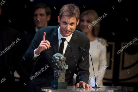 Damian Szifron Argentinean director Damian Szifron speaks after receiving the Best Iberoamerican film award for his film 'Relatos Salvajes' at the Goya Film Awards Ceremony in Madrid, Spain