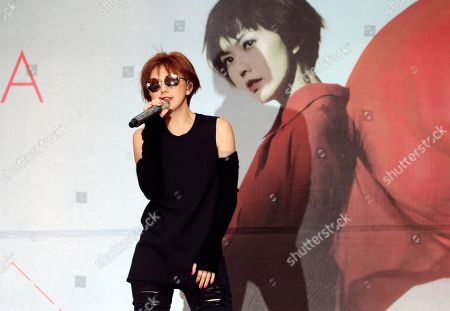 Stefanie Sun Singapore singer Stefanie Sun performs during a promotional event for her album in Taipei, Taiwan