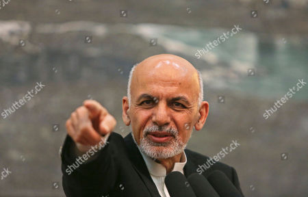 Ashraf Ghani Ahmadzai Afghanistan's President Ashraf Ghani Ahmadzai speaks during a press conference in Kabul, Afghanistan, . Ghani Ahmadzai vowed that his crackdown on official corruption will ensure there is no repeat of a banking scandal in which almost $1 billion was embezzled, decimating confidence in the country's financial sector