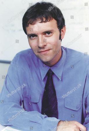 Stock Image of 'Emmerdale'  TV - 2000's Graham Clark (Kevin Pallister)