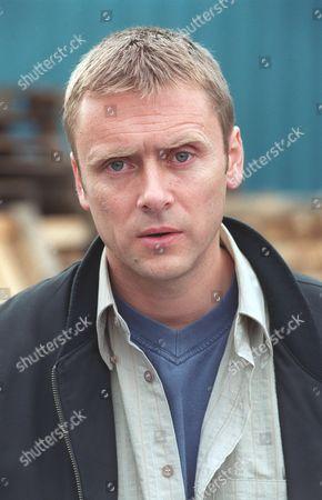 Stock Photo of 'Emmerdale'  TV -  2000's Liam Hammond  (Mark Powley)