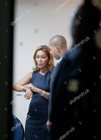 "Michèle Bennett WEEKMichèle Bennett former First Lady of Haiti and the ex-wife of former Haitian dictator Jean-Claude Duvalier, known as ""Baby Doc,"" speaks with her son Francois-Nicolas Duvalier during her former husband's wake in Port-au-Prince, Haiti, . Jean-Claude ""Baby Doc"" Duvalier, the self-designated ""president-for-life"" who died Saturday from an apparent heart attack, will not get a formal state funeral, his attorney said Thursday"