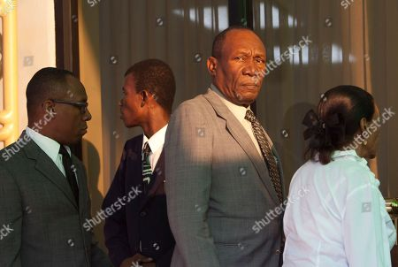 "Prosper Avril Former military dictator Prosper Avril, second right, attends the wake of former Haitian dictator Jean-Claude ""Baby Doc"" Duvalier, in Port-au-Prince, Haiti, . Jean-Claude ""Baby Doc"" Duvalier, the self-designated ""president-for-life"" who died Saturday from an apparent heart attack, will not get a formal state funeral, his attorney said Thursday"