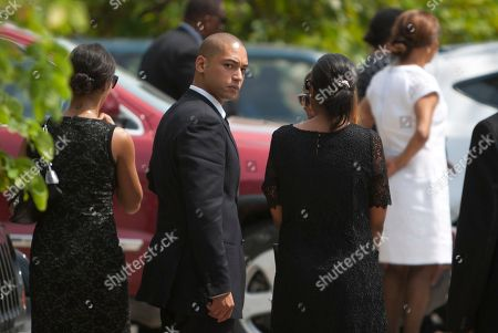 "Francois-Nicolas Duvalier Francois-Nicolas Duvalier, the son of Haiti's late dictator Jean-Claude ""Baby Doc"" Duvalier, arrives to the funeral home after his father's funeral ceremony in Port-au-Prince, Haiti, . Many had wondered whether the self-proclaimed ""president for life"" would receive a state funeral following his death last Saturday from a heart attack at age 63. However, friends and family held a simple and private funeral"