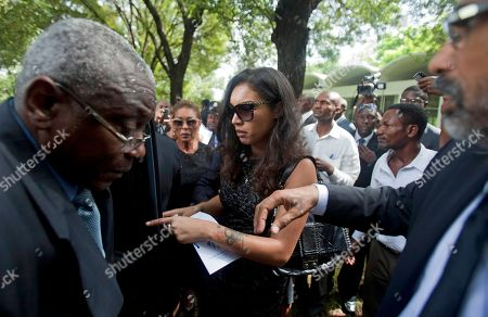 "Anya Duvalier Anya Duvalier, the daughter of Haiti's late dictator Jean-Claude ""Baby Doc"" Duvalier, leaves after her father's funeral ceremony in Port-au-Prince, Haiti, . Many had wondered whether the self-proclaimed ""president for life"" would receive a state funeral following his death last Saturday from a heart attack at age 63. However, friends and family held a simple and private funeral"
