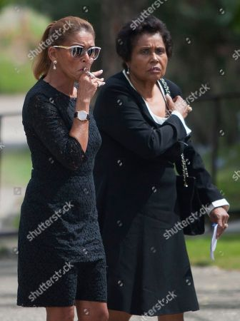"MichËle Bennett Michele Bennett, the ex-wife of Haiti's late dictator Jean-Claude ""Baby Doc"" Duvalier, smokes a cigarette as she arrives to the funeral home after Duvalier's funeral ceremony in Port-au-Prince, Haiti, . Many had wondered whether the self-proclaimed ""president for life"" would receive a state funeral following his death last Saturday from a heart attack at age 63. However, friends and family held a simple and private funeral"