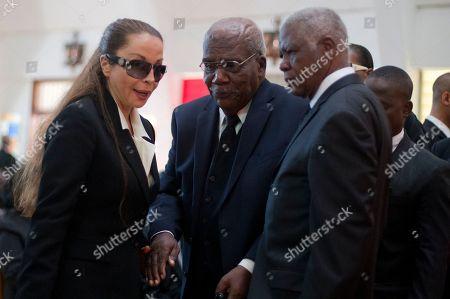 Editorial photo of Haiti Duvalier Funeral, Port-au-Prince, Haiti