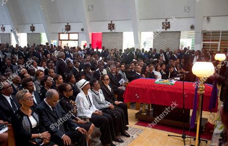 Editorial picture of Haiti Duvalier Funeral, Port-au-Prince, Haiti